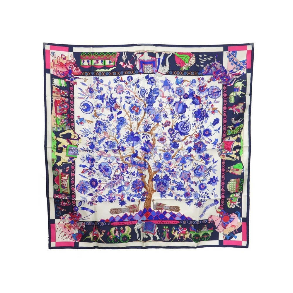 751d8b0fc18 NEUF FOULARD HERMES FANTAISES INDIENNE. Loading zoom