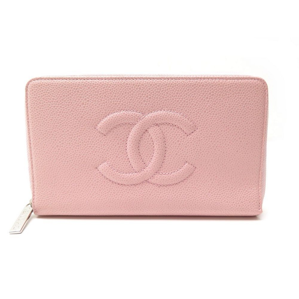 NEUF PORTEFEUILLE CHANEL CUIR CAVIAR ROSE. Loading zoom d0173740fd6