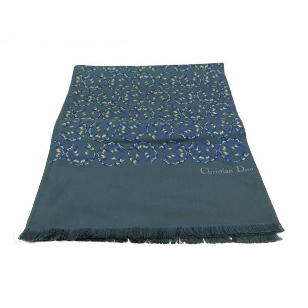 foulard christian dior echarpe homme en soie vert 6f4d44e603c