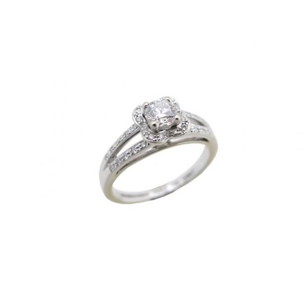 bague solitaire diamant mauboussin