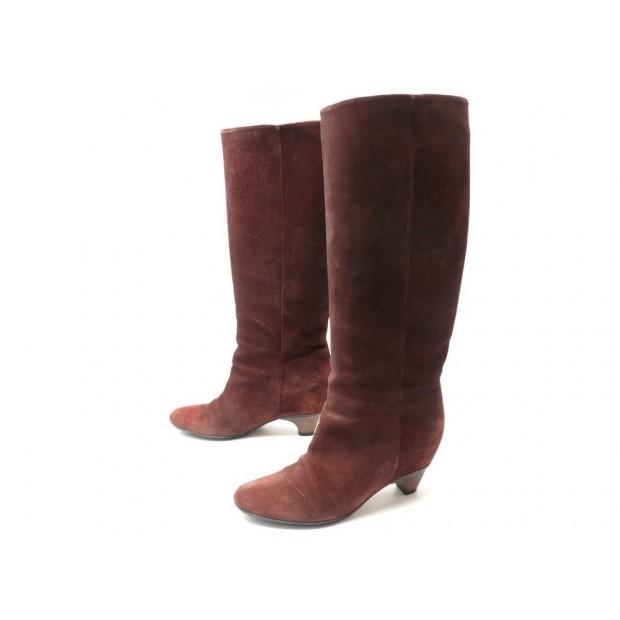 1a5f7d3a458 chaussures maison martin margiela 39 bottes daim