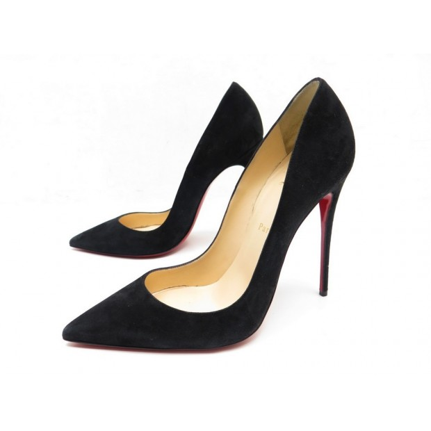 new product 2404a cc392 chaussures christian louboutin so kate 120 39.5