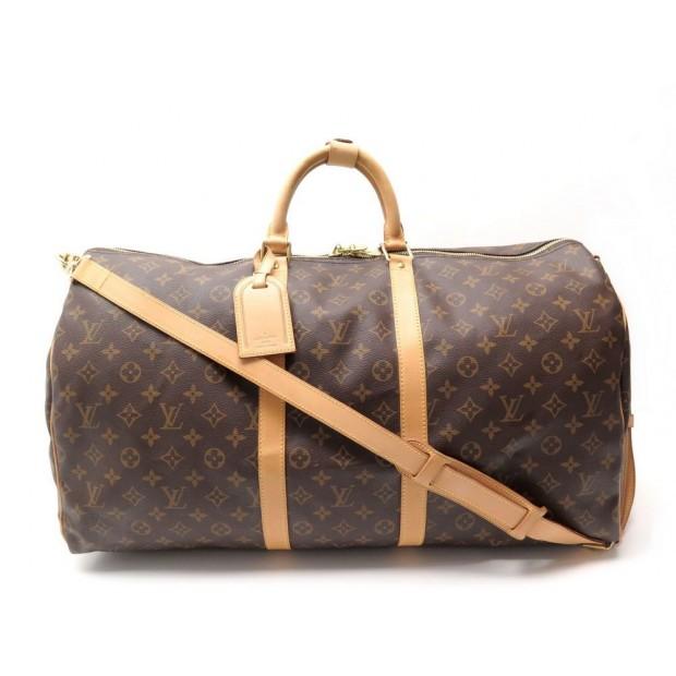 99d1035bc9 sac de voyage a main louis vuitton keepall 55