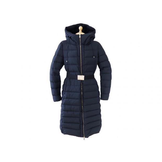 82147b8c084 manteau blouson doudoune moncler imin bleu marine t 4
