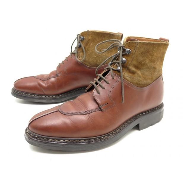 83fe753ffe2557 chaussures heschung ginkgo 5.5 40.5 41 bottillons cuir