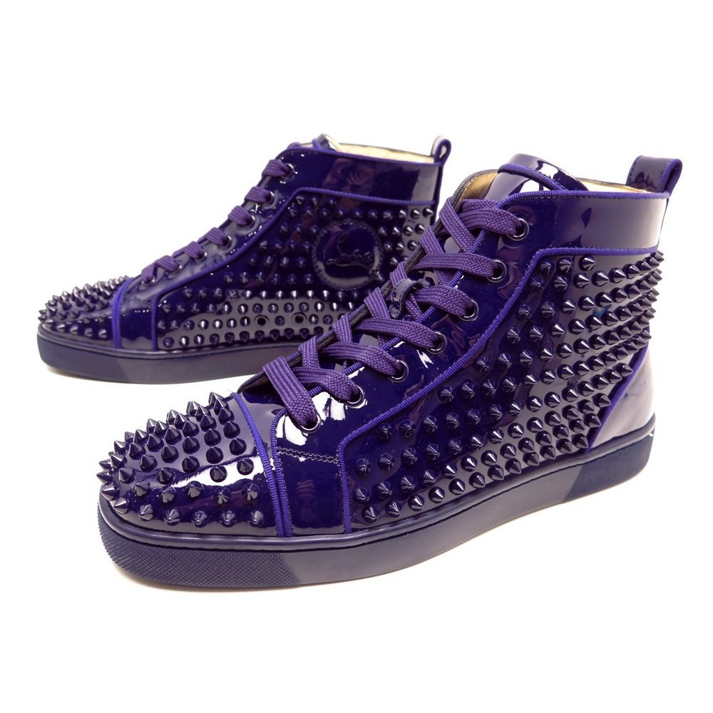 magasin en ligne b55e9 42cfd chaussure christian louboutin louis spike 40