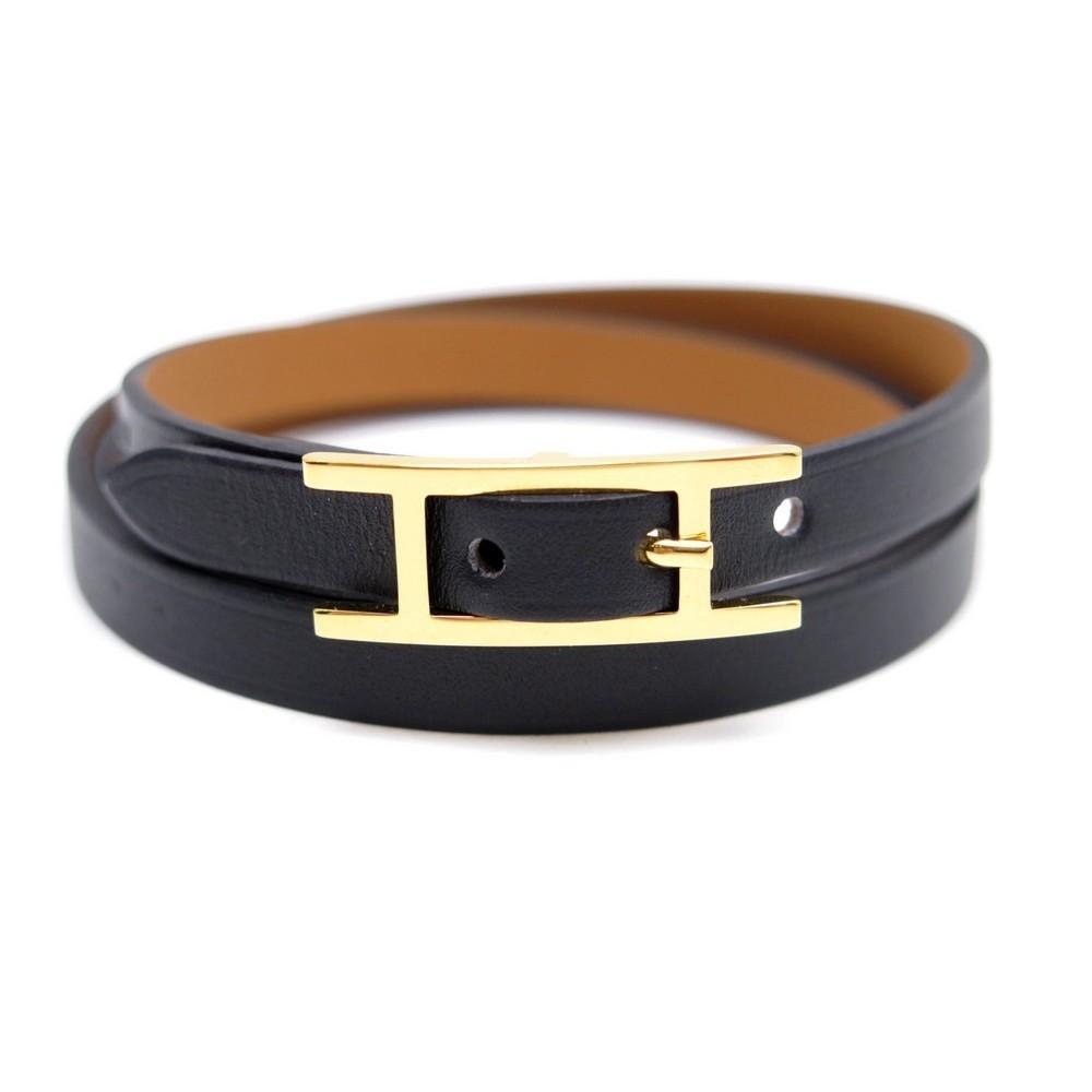 d22811ffb44 bracelet hermes hapi 3 multi tours en cuir