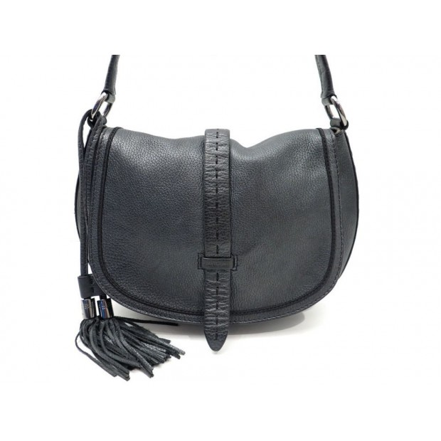 NEUF SAC A MAIN LANCEL BESACE 30 CM CUIR NOIR IRISE LEATHER HAND BAG PURSE 390€