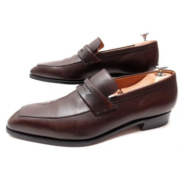 mode designer style à la mode meilleur pas cher chaussures jm weston 414 conti mocassins 10d 44