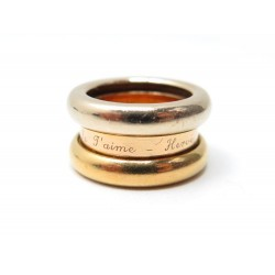BAGUE POIRAY COLLECTION POSSESSION OR JAUNE