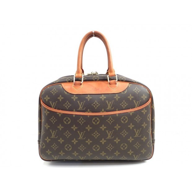 SAC A MAIN LOUIS VUITTON BOWLING VANITY DEAUVILLE M47270 MONOGRAM BAGAGE 1130€