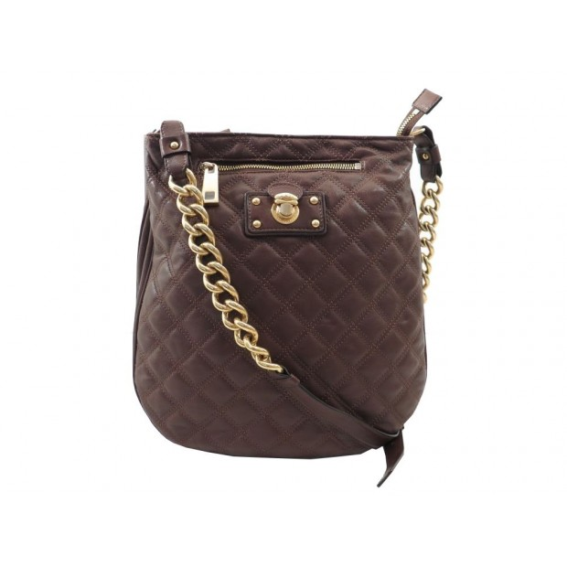 fa191dfe6e7aa2 NEUF SAC A MAIN MARC JACOBS BESACE BANDOULIERE CUIR MATELASSE QUILTED BAG  1200€