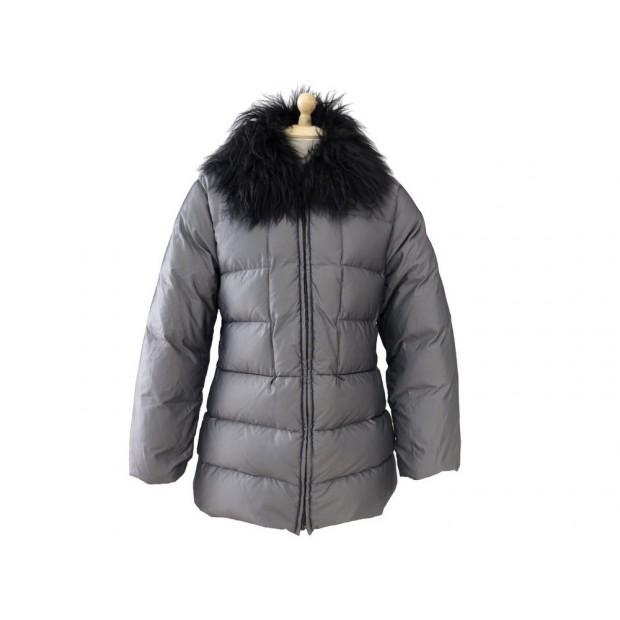 8eb041a8010 doudoune moncler t 38 s manteau doudoune fourrure