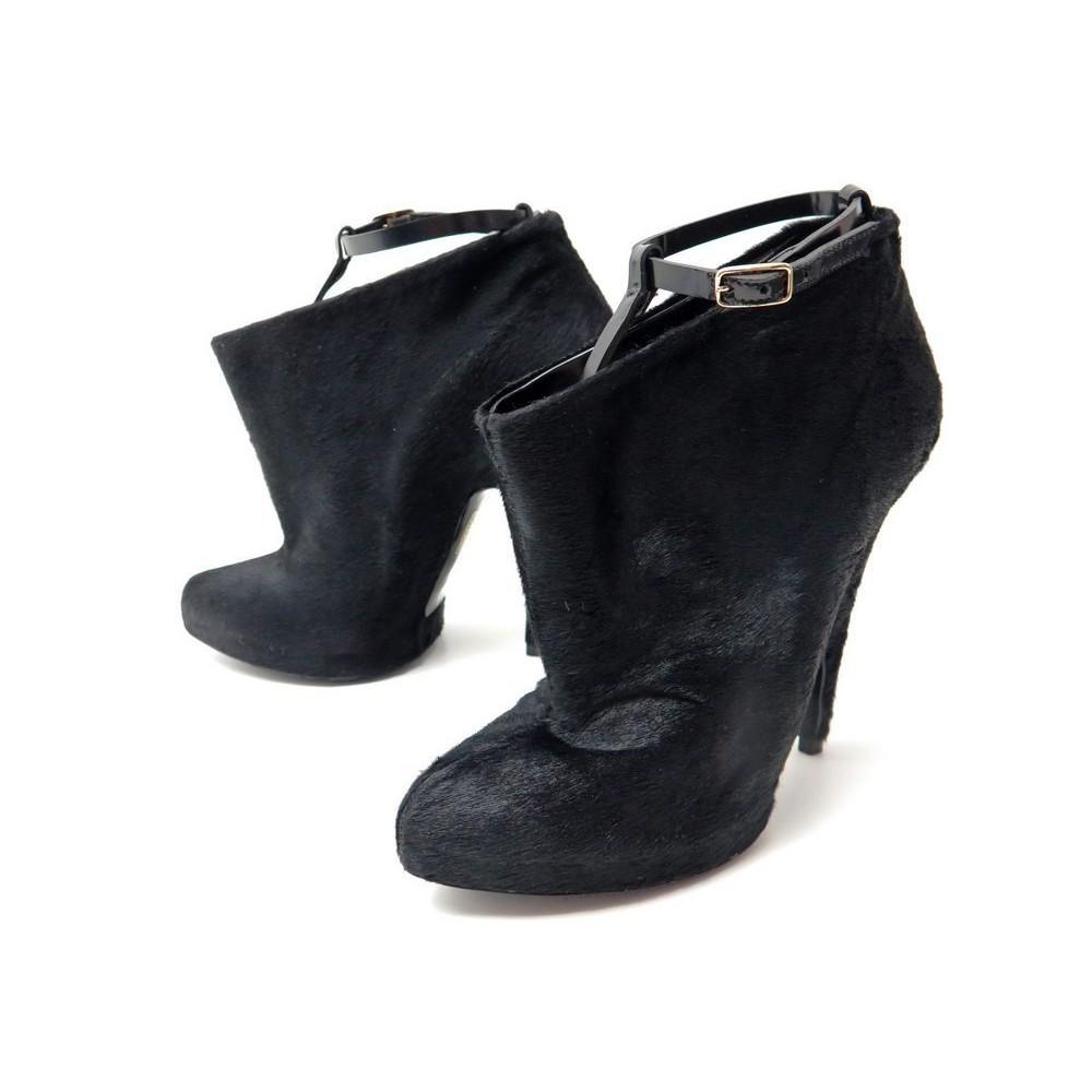 Chaussures givenchy de poil de givenchy poulain 37 bottines b3e28b
