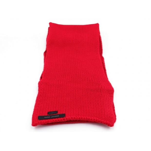c6187f803d7 echarpe marc jacobs 230 x 23 en acrylique rouge