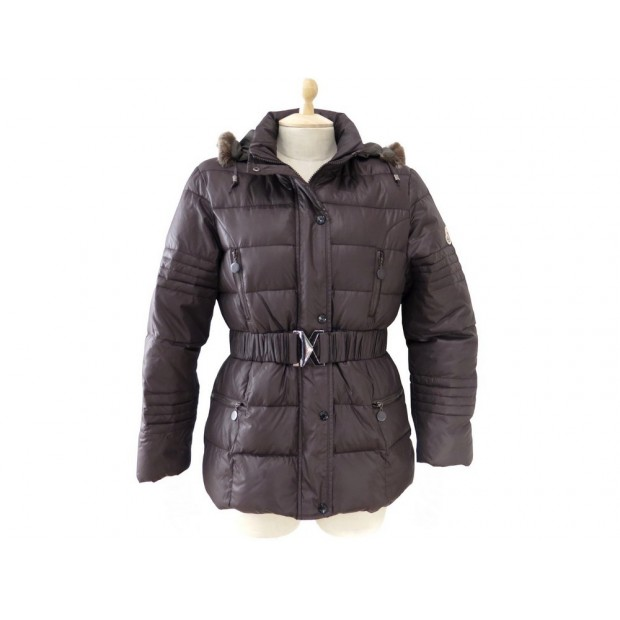 8c35bad66cd manteau moncler doudoune mathias col fourrure de lapin