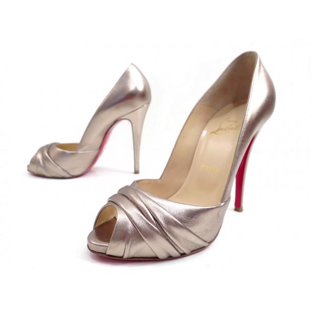 nouveau concept 42907 abbf3 chaussures christian louboutin matrinana 120 escarpins