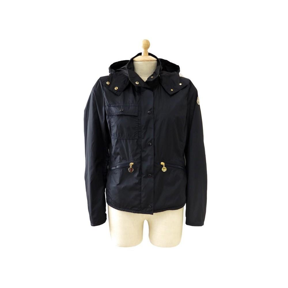 a12c9c55dae manteau moncler fauve parka coupe vent taille 36 s