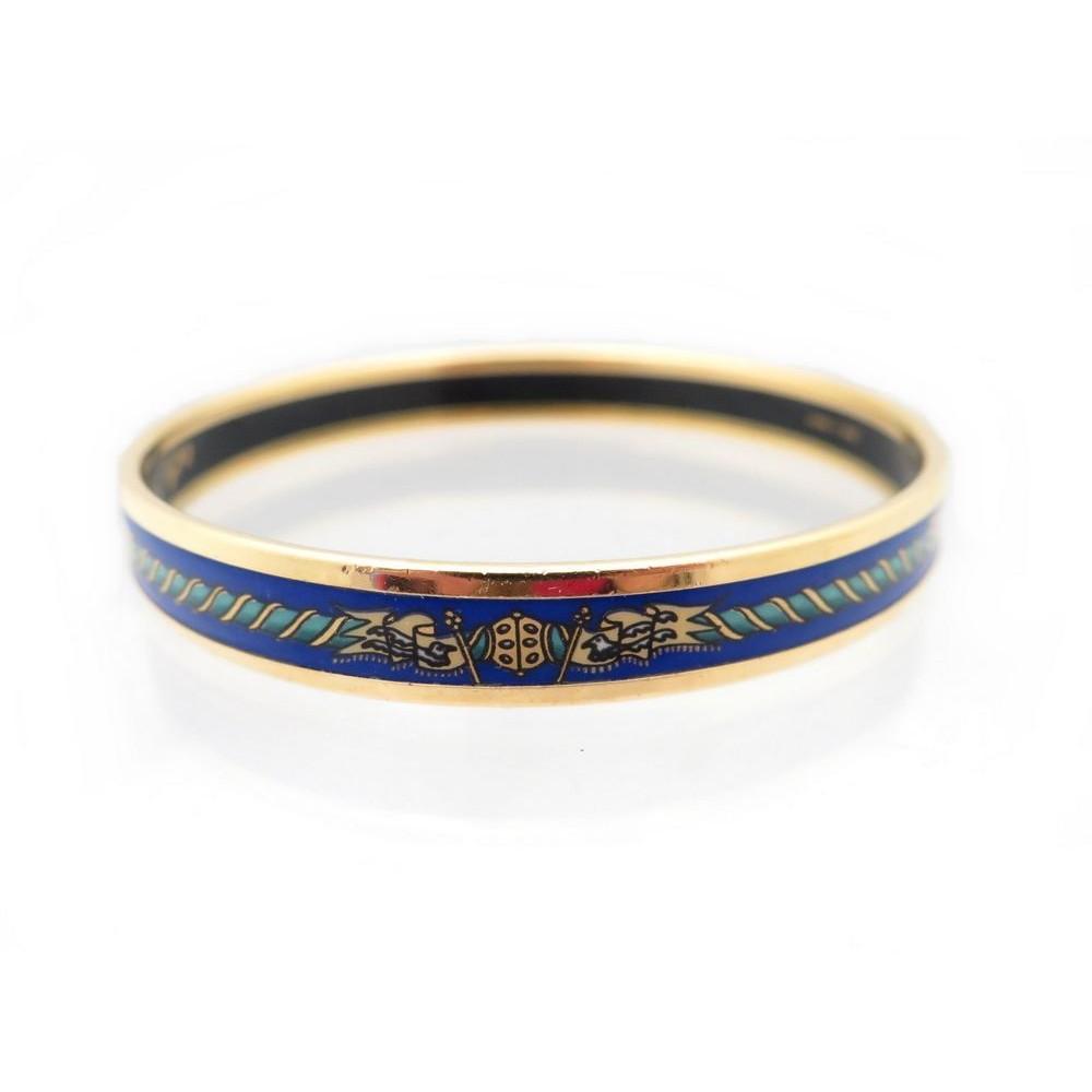 bracelet hermes imprime motifs drapeaux fanions en b3a640f18dc