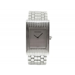 MONTRE BOUCHERON REFLET SMALL ACIER QUARTZ STEEL LADY WATCH 3470€