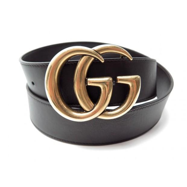 ac6e85ac5e1 ceinture gucci double g dore 397660 t95 cuir