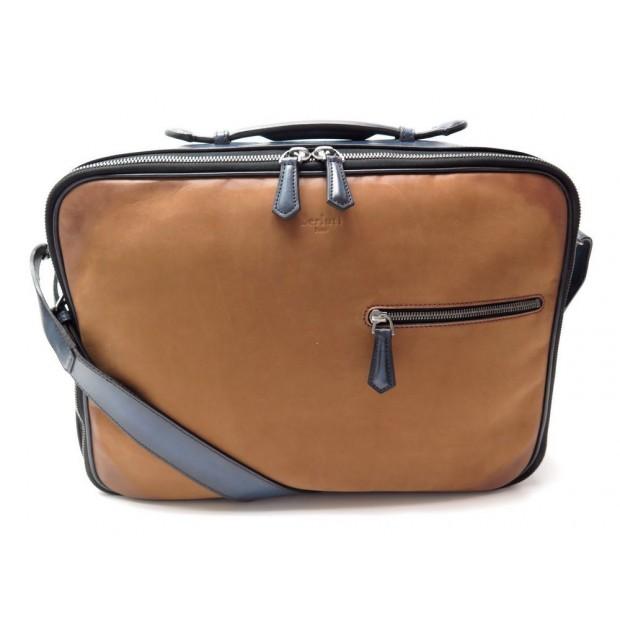 6d360f7faec sac valise berluti lendemain gm bandouliere reporter