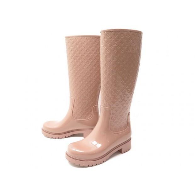 f9d9d6e98b7 bottes de pluie louis vuitton splash 35 en gomme