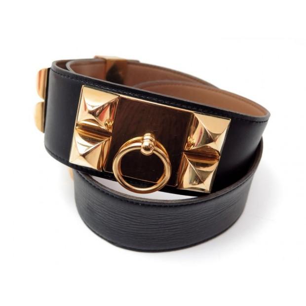 5aa034327c27 ceinture hermes collier de chien ou medor t 70 cuir