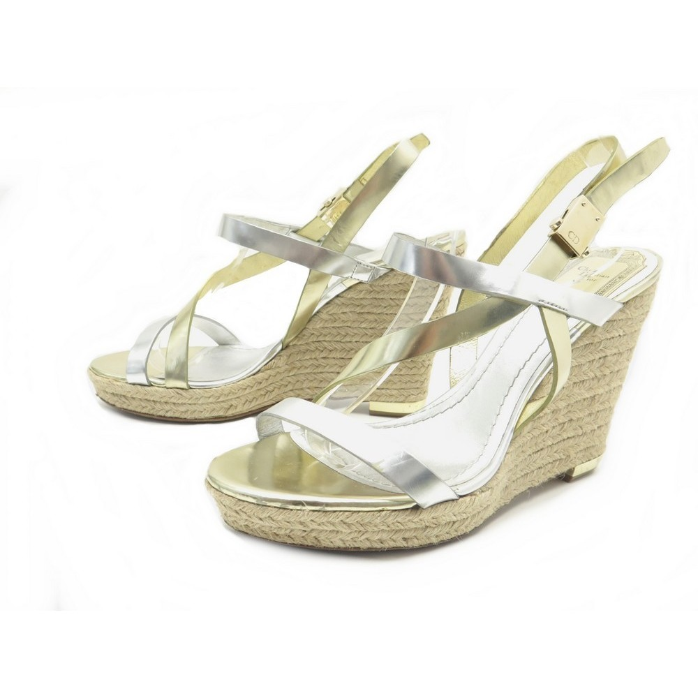 Dior Sandales Talons Compenses A Christian Chaussures 7v6IbfYgy