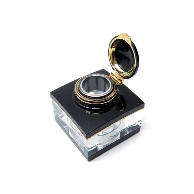 ENCRIER MONTBLANC MEISTERSTUCK 13921 CRISTAL POUR STYLO PLUME BOITE INKWELL